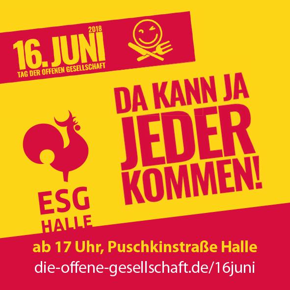 16. Juni 2018 – Tag der offenen Gesellschaft