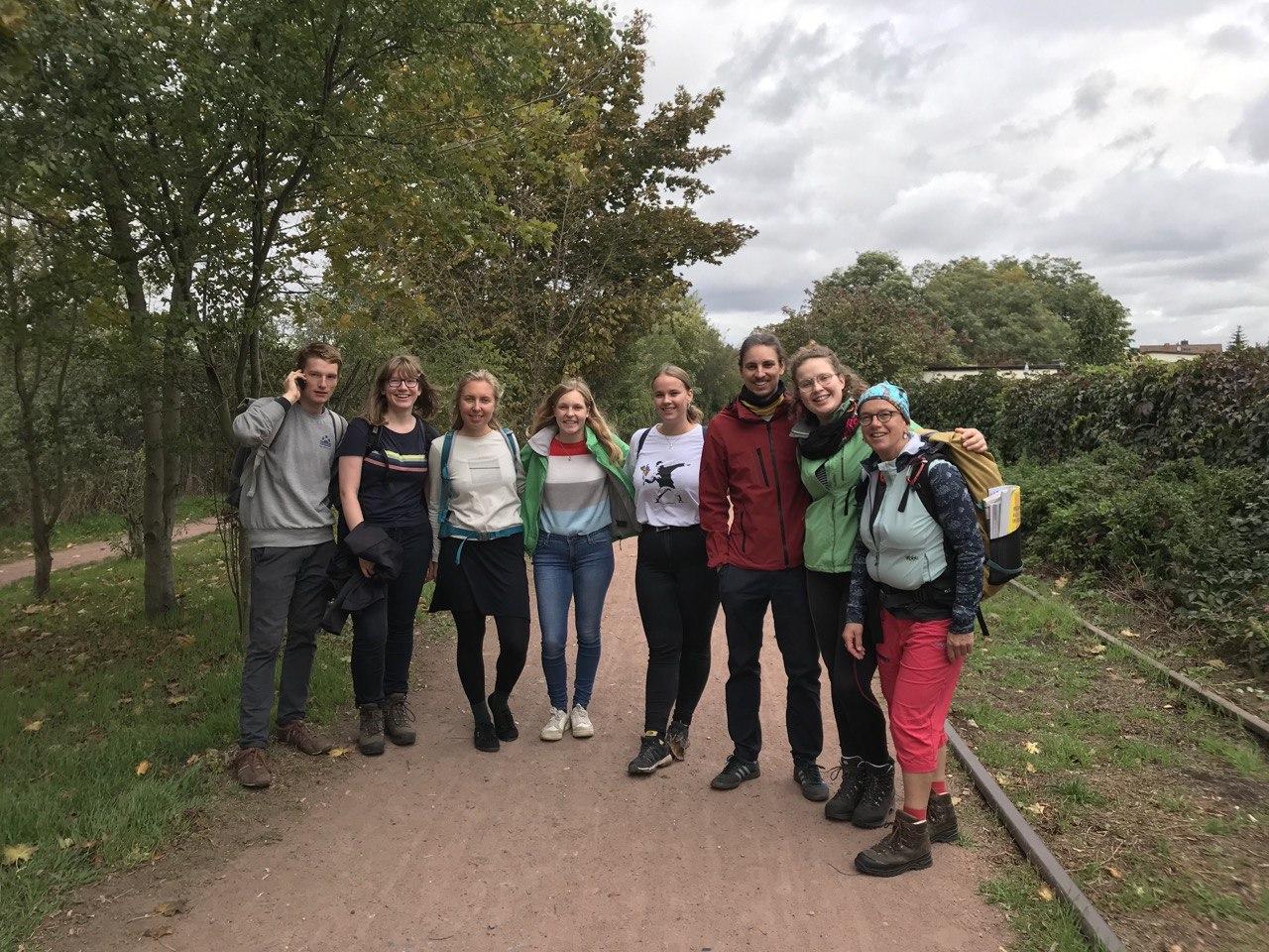 Exkursion durch die Dölauer Heide